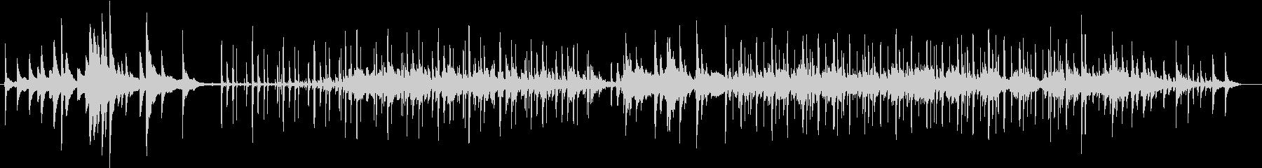 幻想的、ピアノとチェロBGM(ループ)の未再生の波形