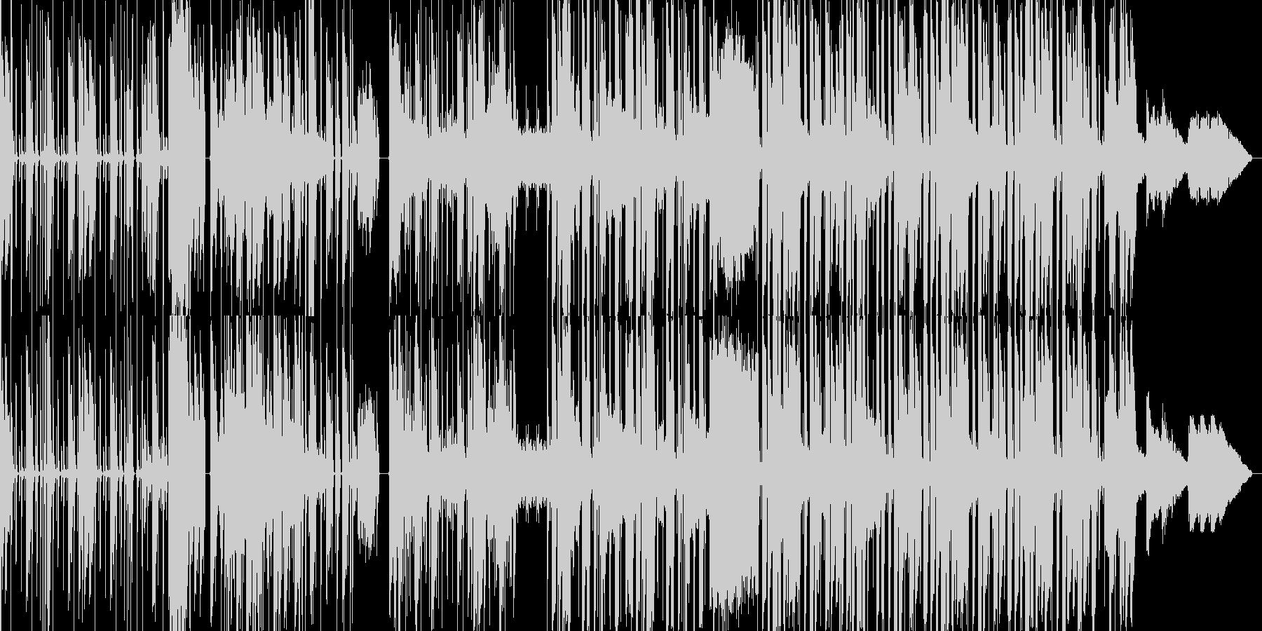 コミカルなhiphopbeatsの未再生の波形