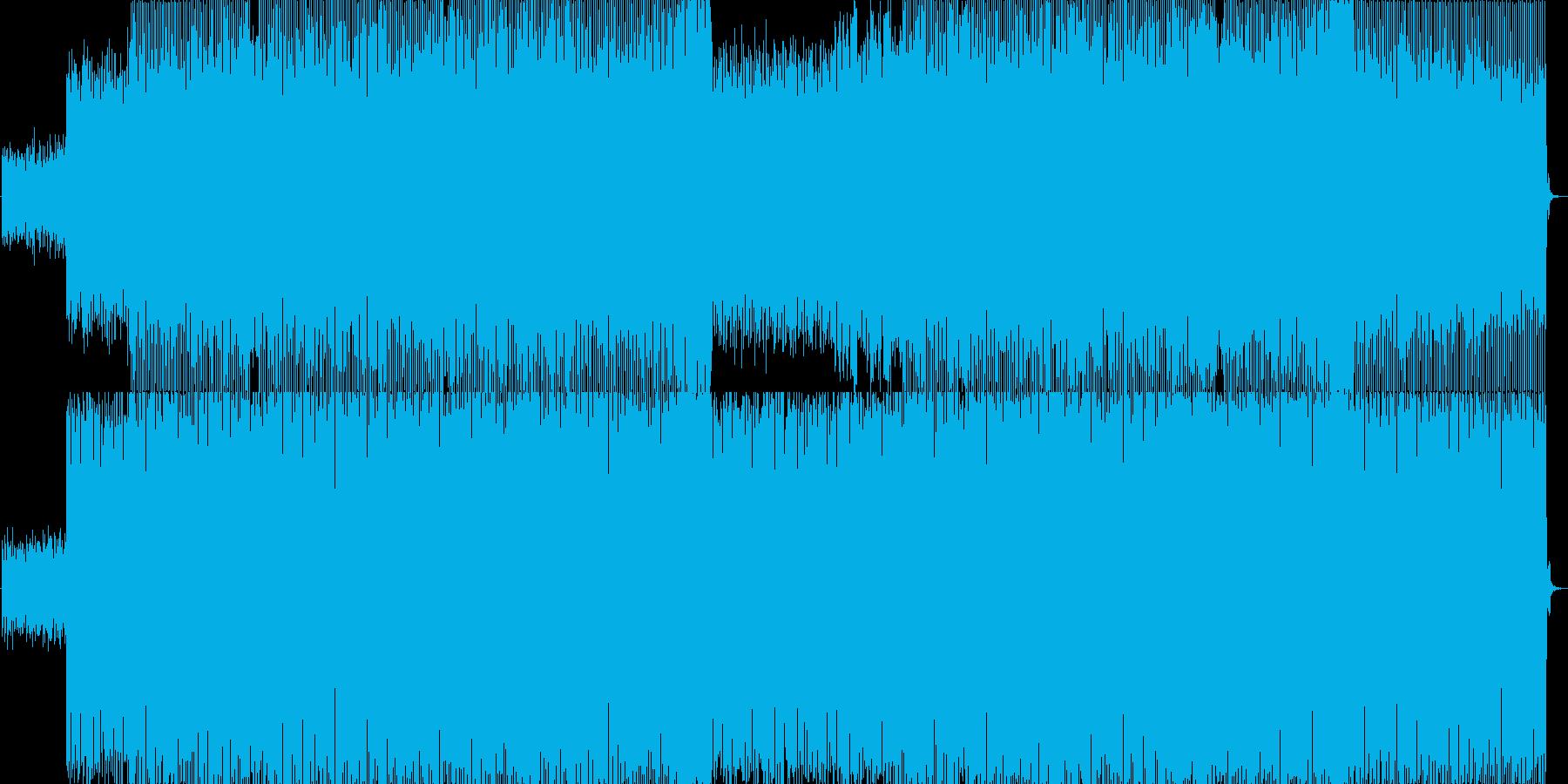そよ風を表現したハウスサウンドです。の再生済みの波形