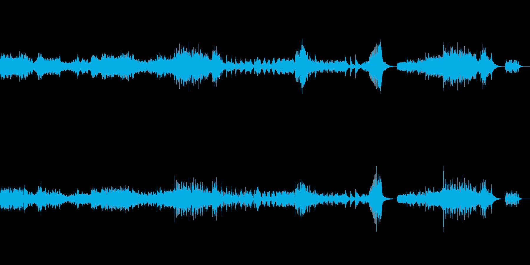 哀愁のピアノソロ の再生済みの波形