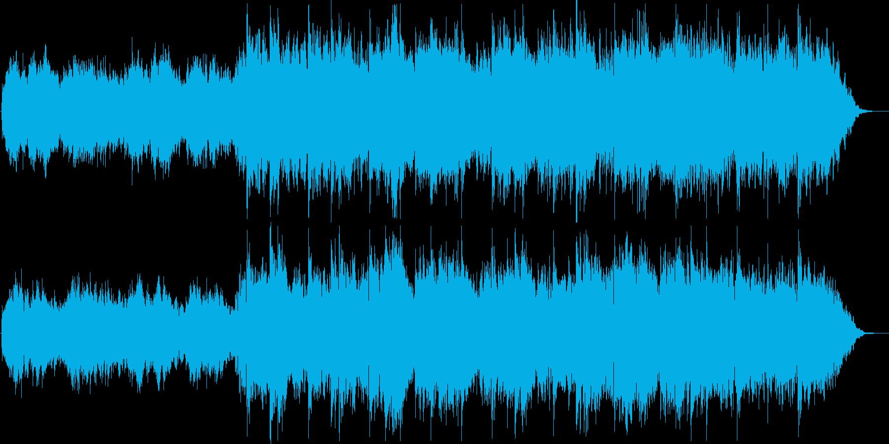 旋律が美しいスローテンポのポップスの再生済みの波形