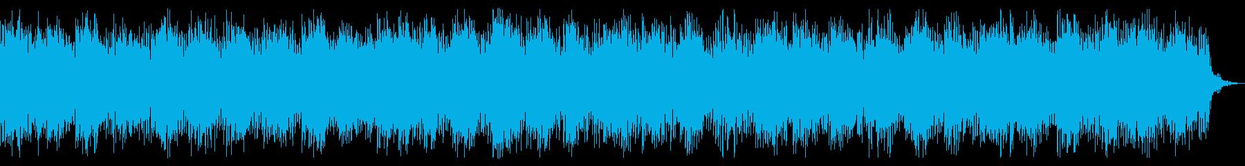 サイバーなダーク、ホラー向けBGMの再生済みの波形