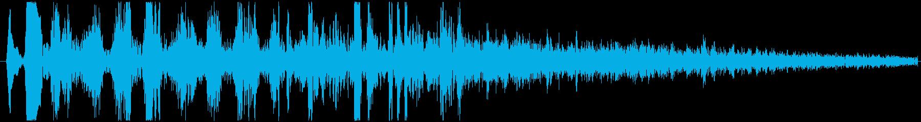 【効果音/水中/乗り物/潜水艦】の再生済みの波形