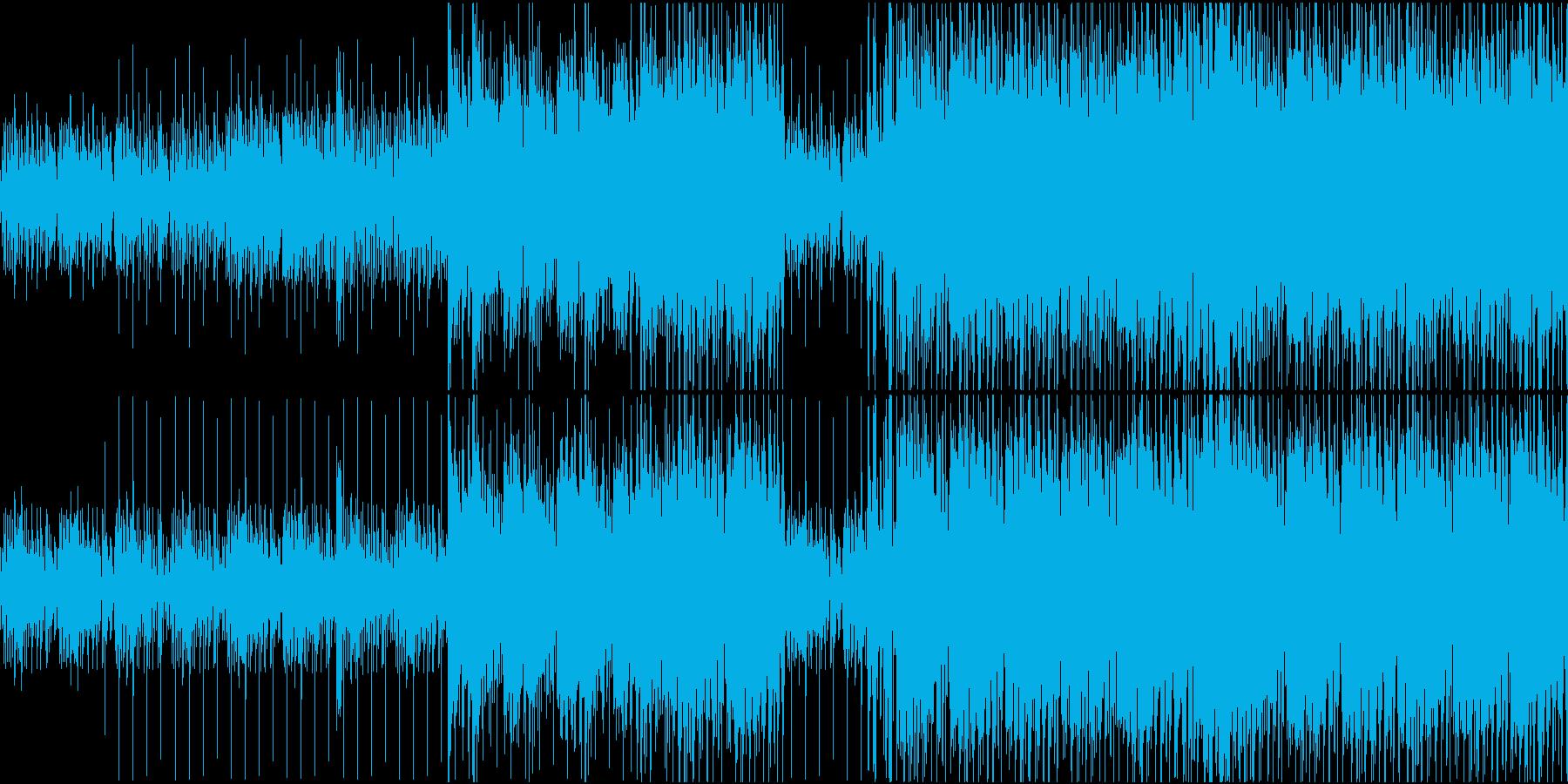 思考を巡らせているようなピアノ系インストの再生済みの波形