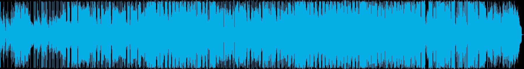 オリエンタルな雰囲気のR&Bバラードの再生済みの波形