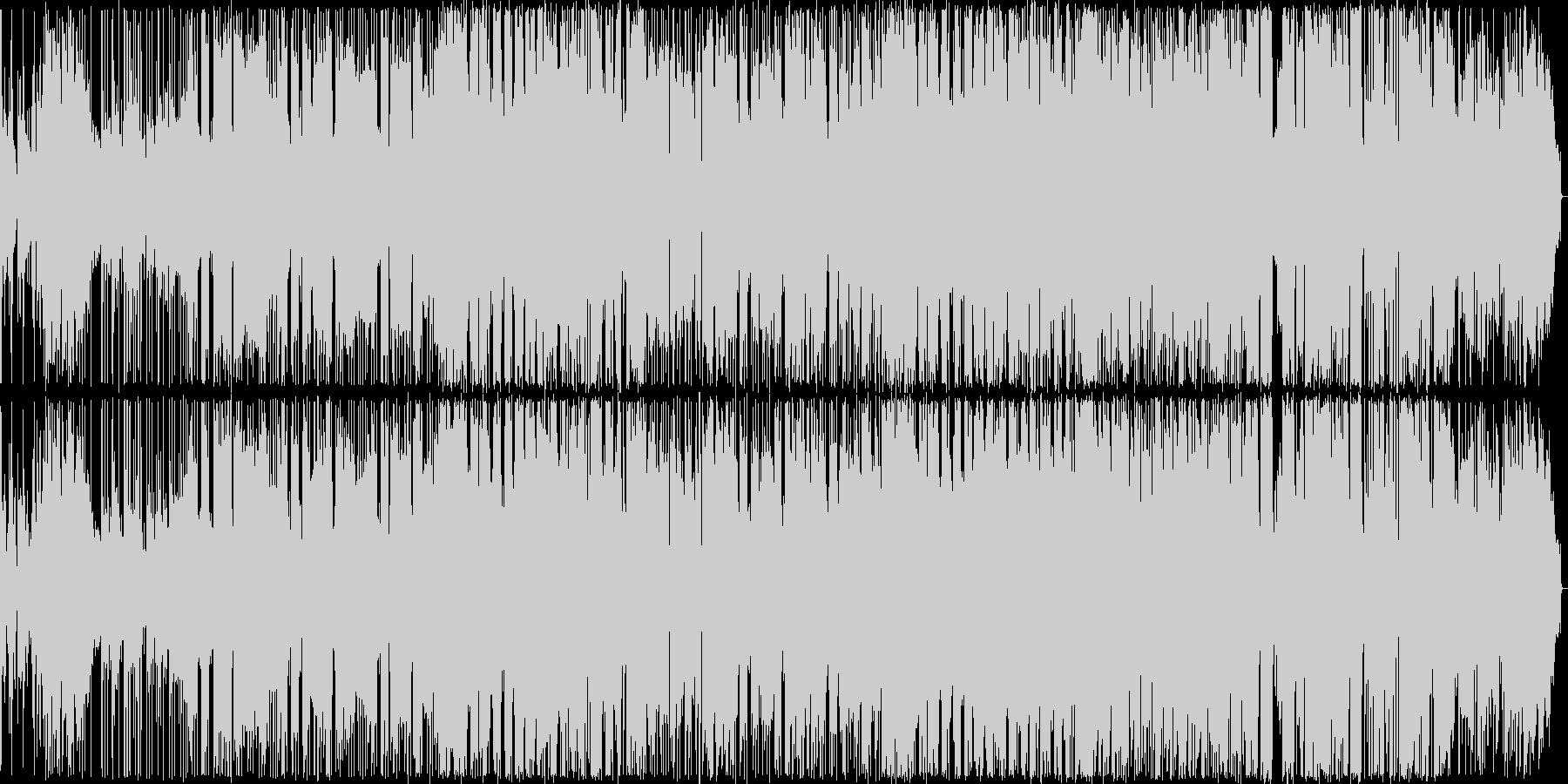 オリエンタルな雰囲気のR&Bバラードの未再生の波形