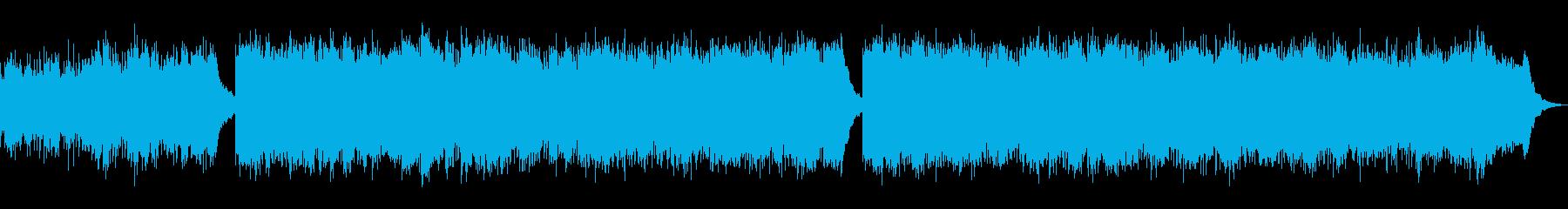 戦闘曲「全力で逃げろ」1分BGMの再生済みの波形