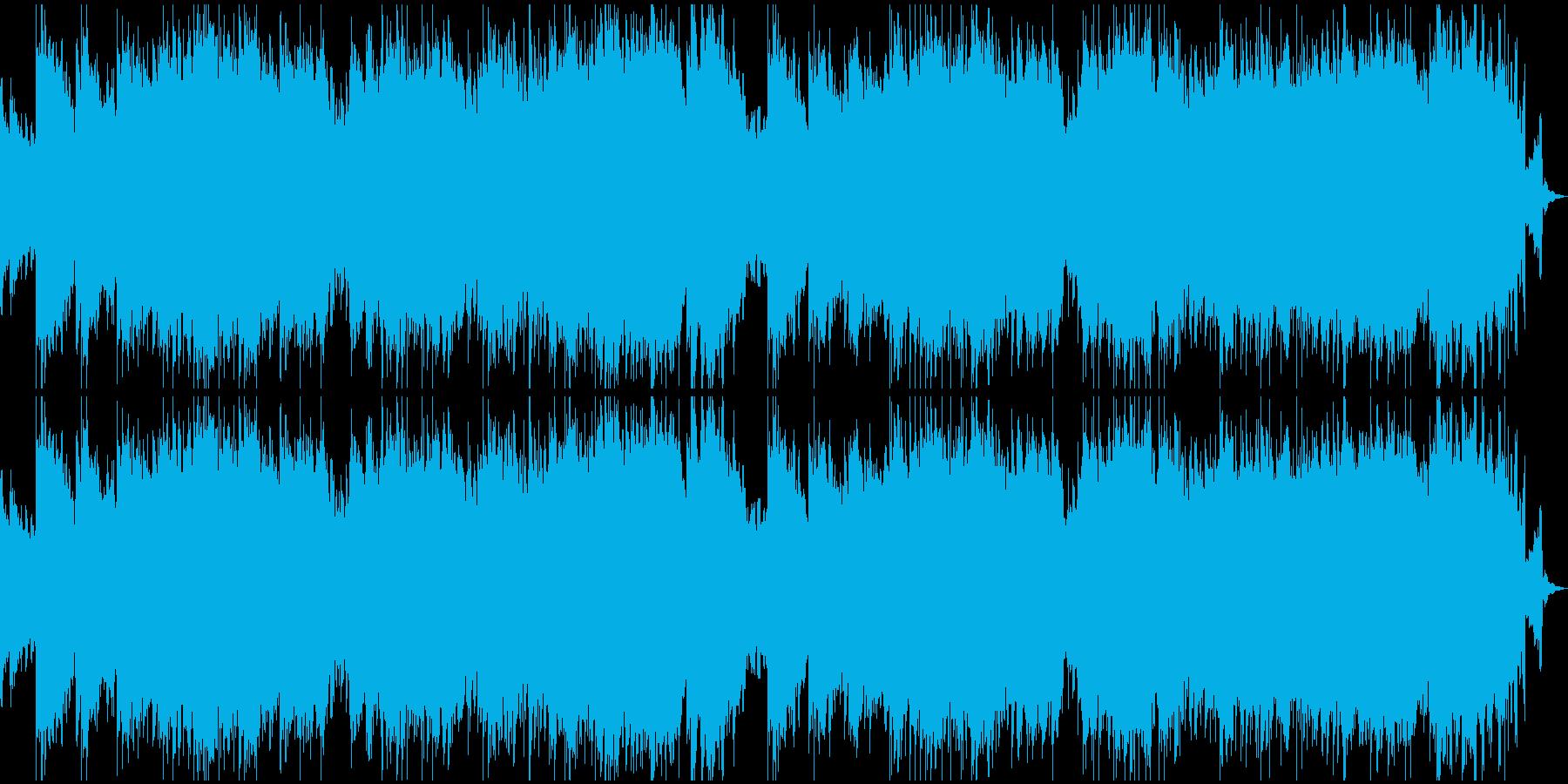 時を盛るのぼるようなピアノと特殊音響効果の再生済みの波形