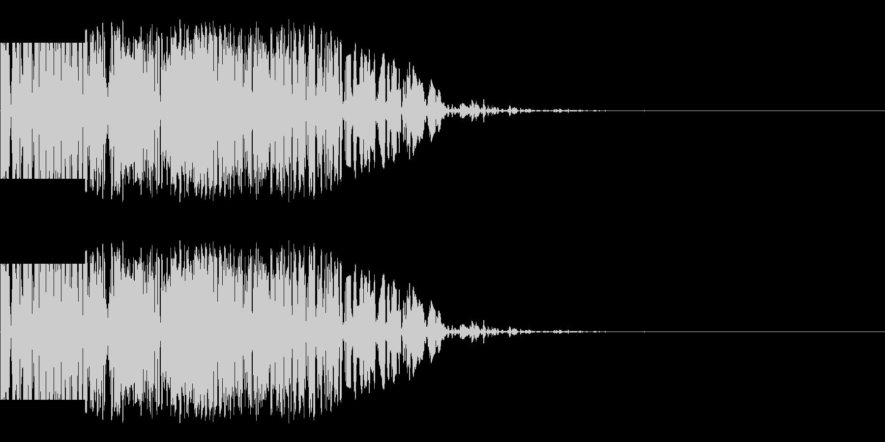 ズシン(重い足音系)03の未再生の波形