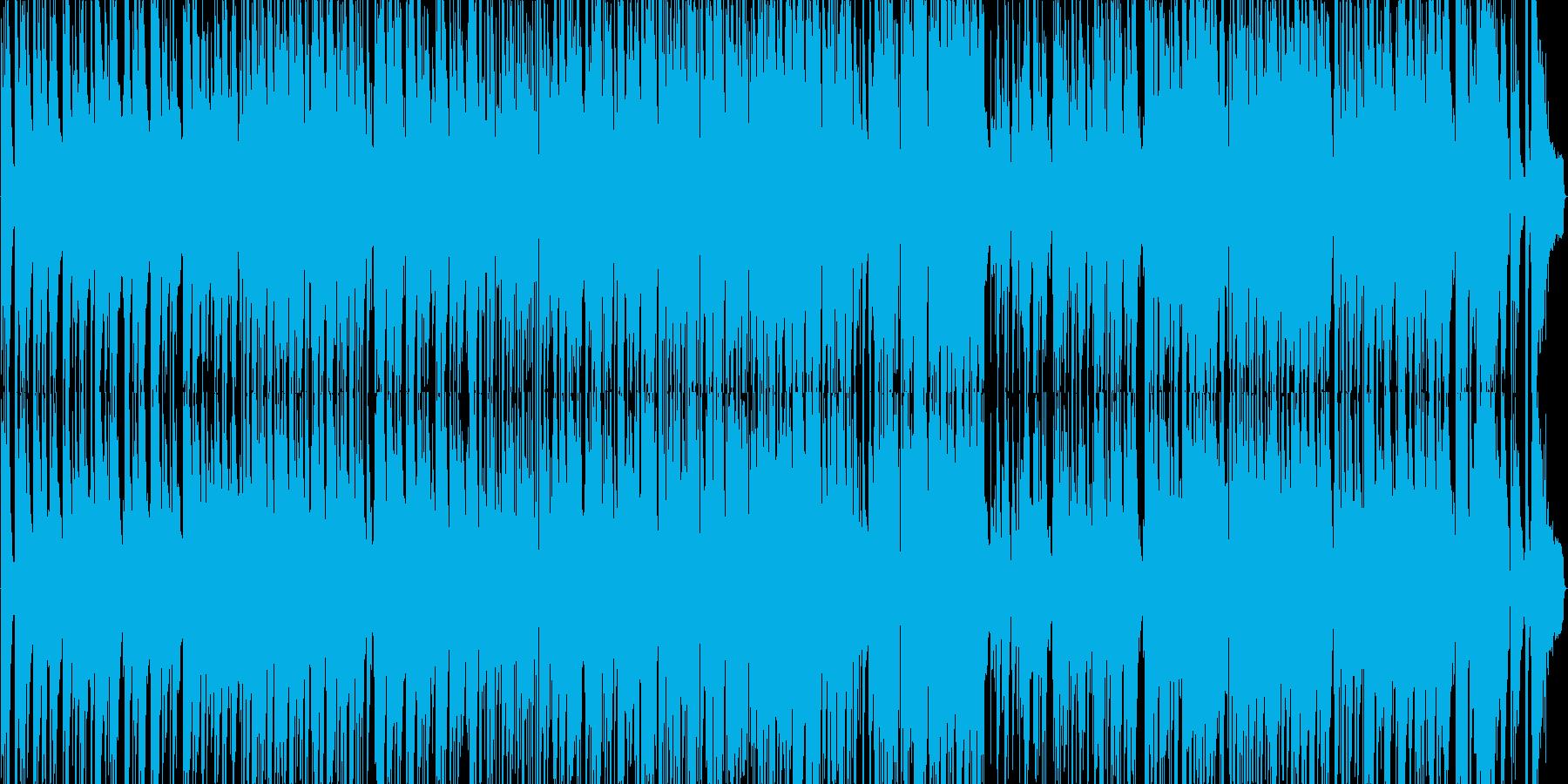 ガーシュウィンのピアノトリオバラードの再生済みの波形