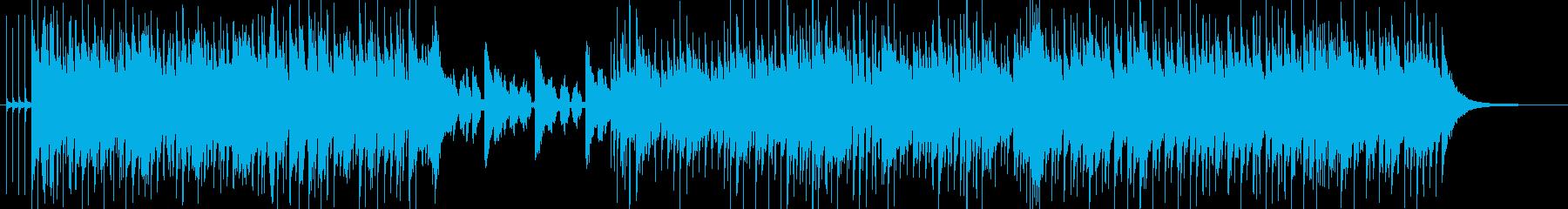 終わりと始まりを感じさせるポップインストの再生済みの波形