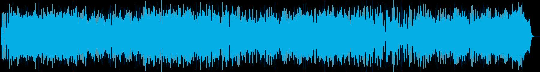 軽快で可憐な笛ポップスの再生済みの波形