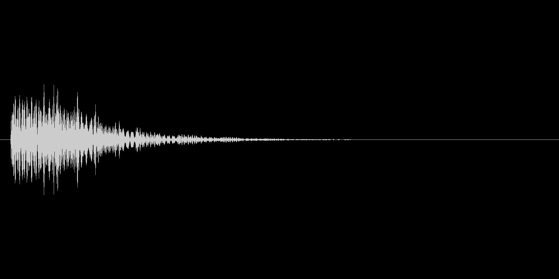 アイテムを入手した時のキラキラ音_その2の未再生の波形