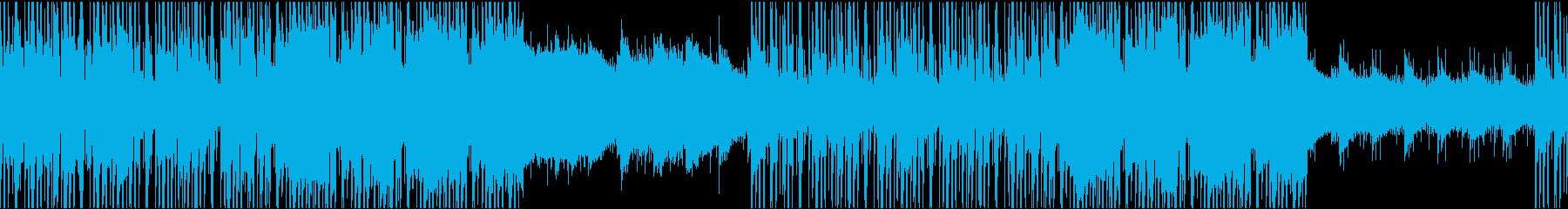 穏やかで落ち着いたジャズヒップホップの再生済みの波形