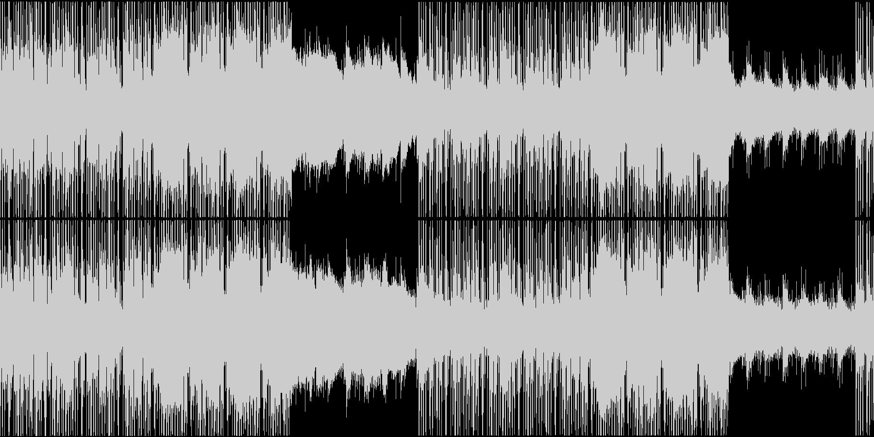 穏やかで落ち着いたジャズヒップホップの未再生の波形