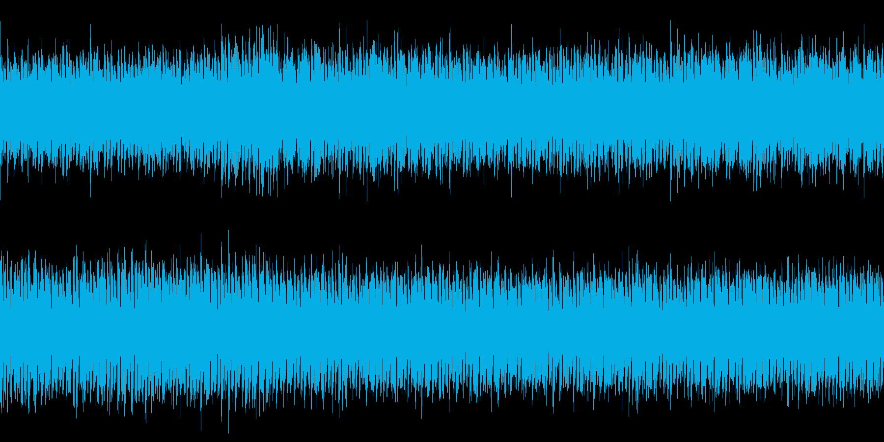 ドキドキする30秒ジャストのEDM宇宙的の再生済みの波形