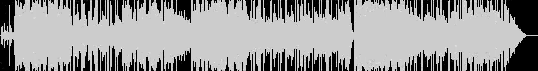エンディング映像向きエレクトロニカの未再生の波形