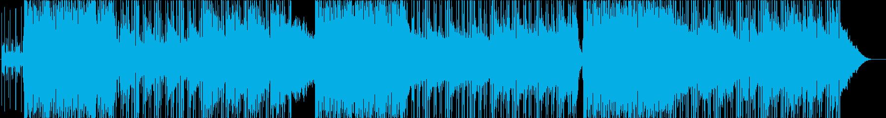 エンディング映像向きエレクトロニカの再生済みの波形