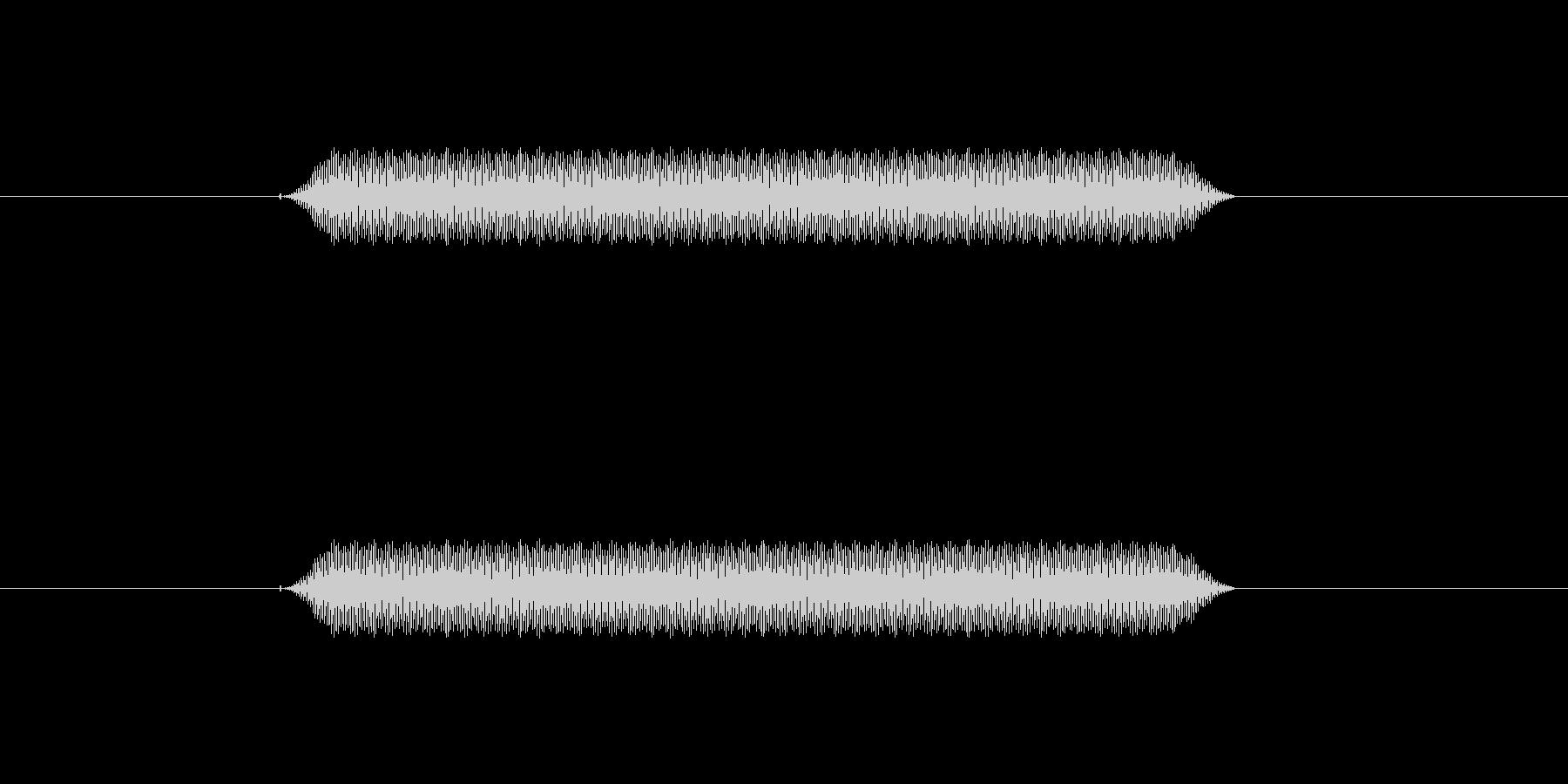 【汎用・セリフ音等】ピッ(高)の未再生の波形