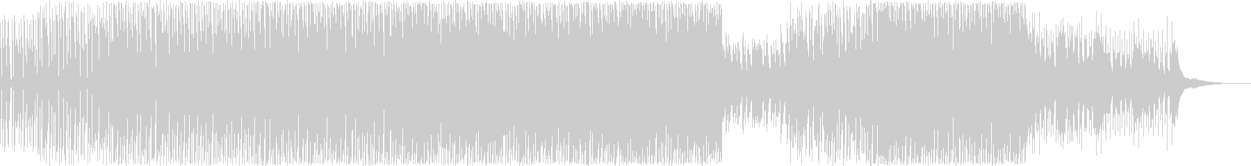 スタイリッシュなテクノポップの未再生の波形