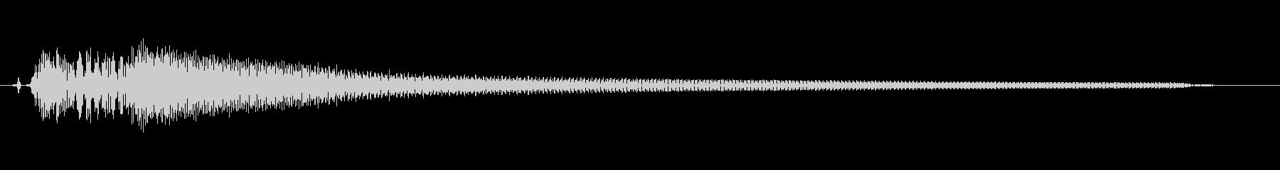 アコギ不協和音(適当に抑えて弾いた音)の未再生の波形