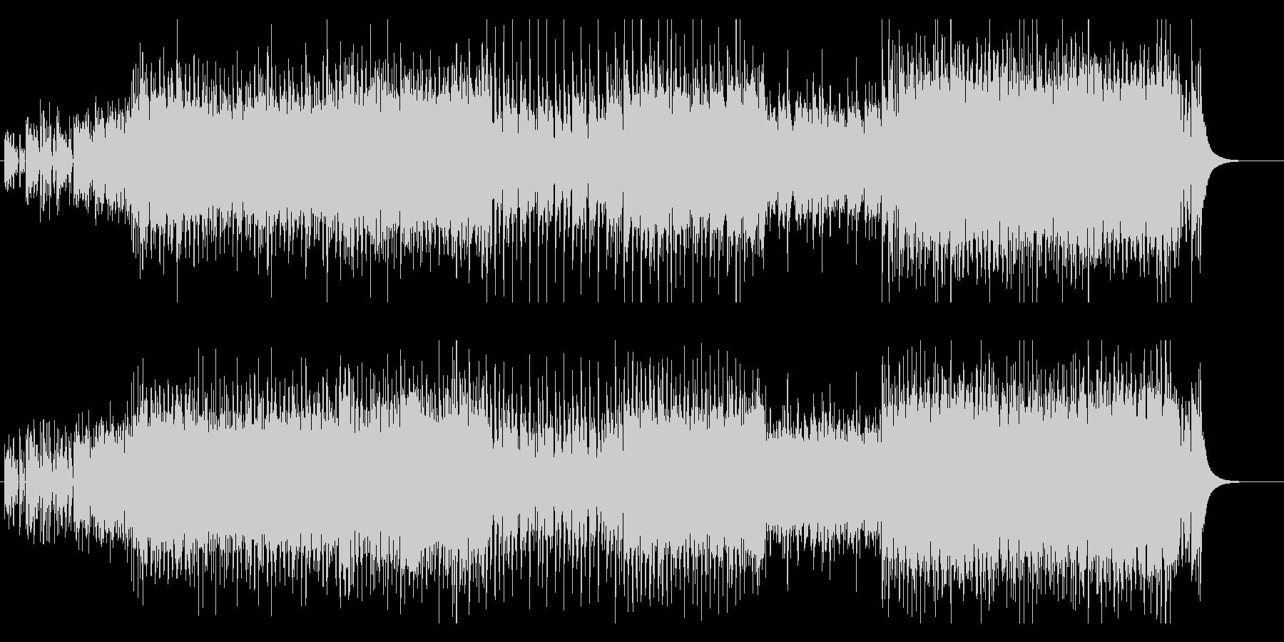 ジングルベル ライトなテクノ カラオケの未再生の波形