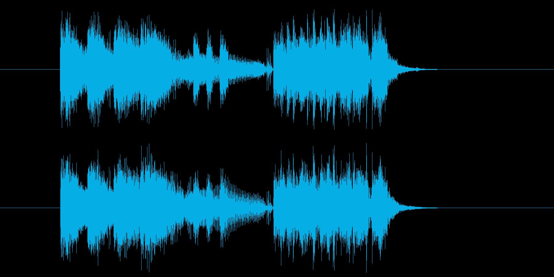 クイズ アタック テーマ エンディングの再生済みの波形