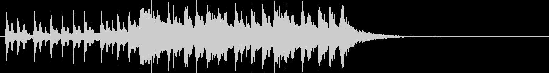 始まる雰囲気がする曲の未再生の波形