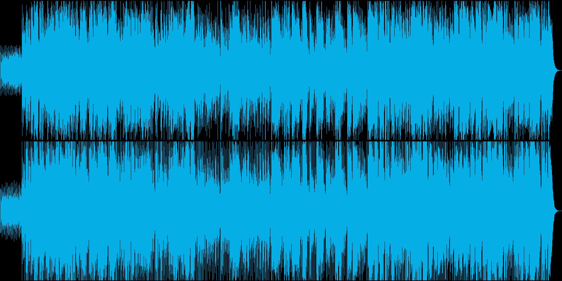 クリスマスムードのビッグバンドジャズの再生済みの波形