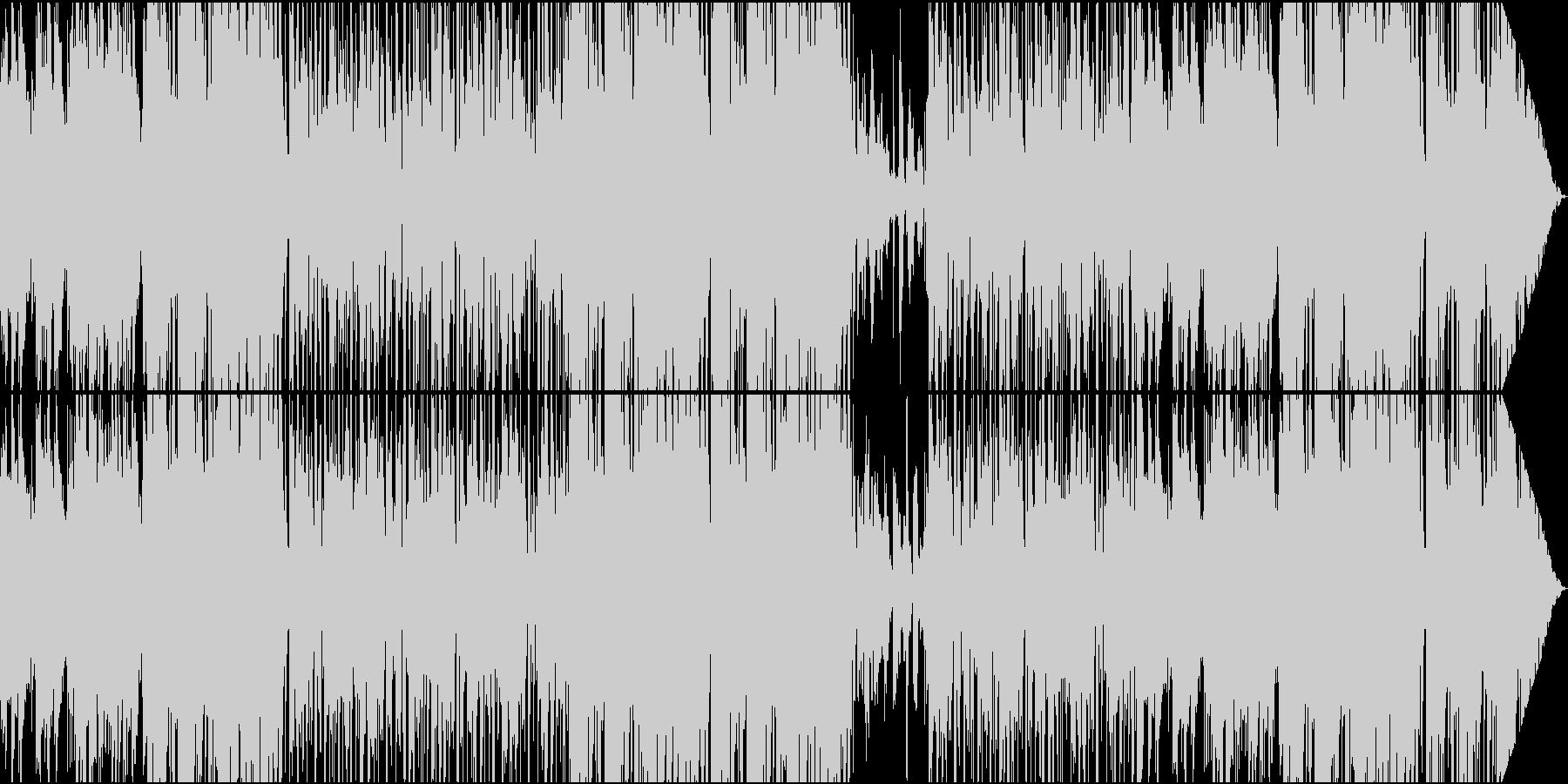 フュージョン系イージーリスニング/ギターの未再生の波形