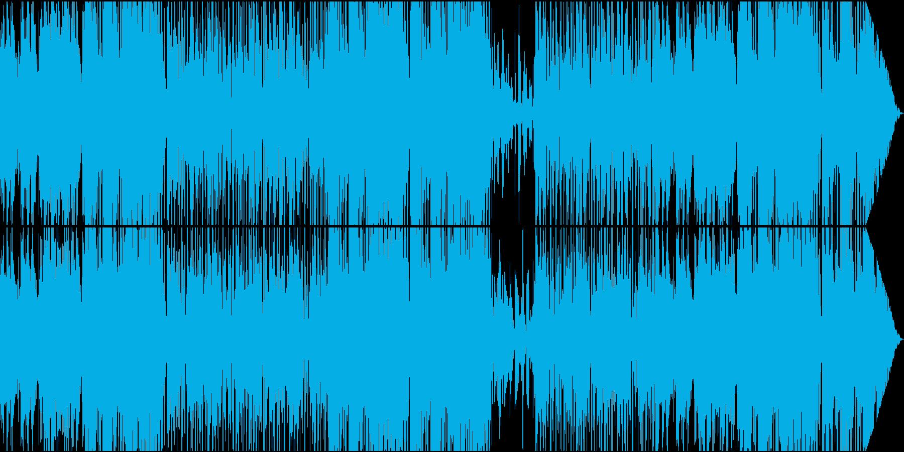 フュージョン系イージーリスニング/ギターの再生済みの波形