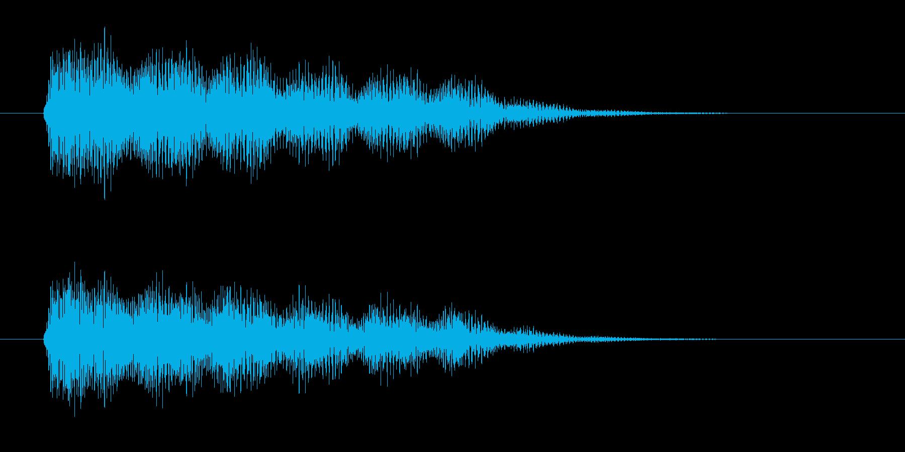 フワーン(透明感、爽やか)の再生済みの波形