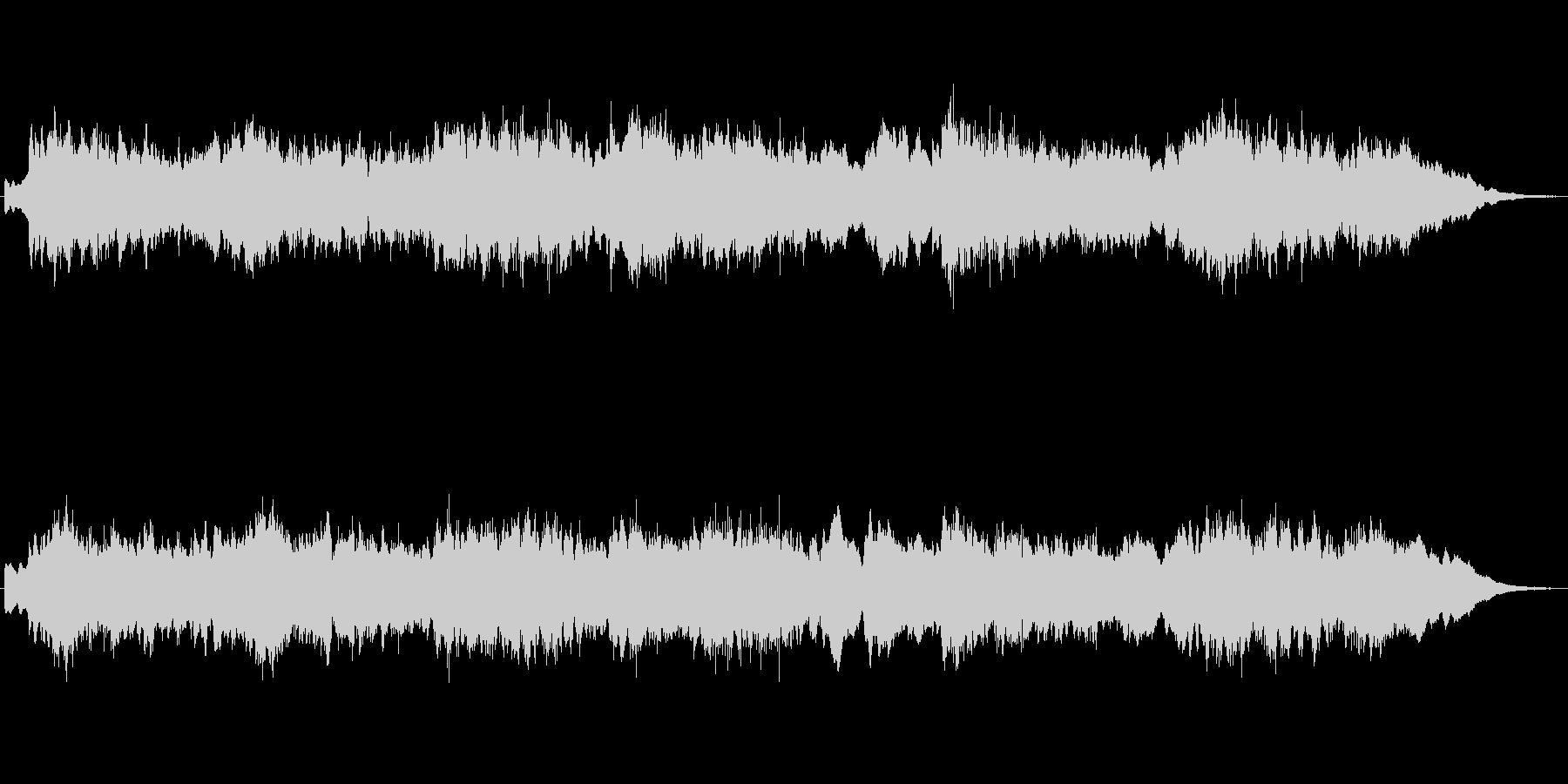 キラキラシンセのメルヘンの世界のジングルの未再生の波形