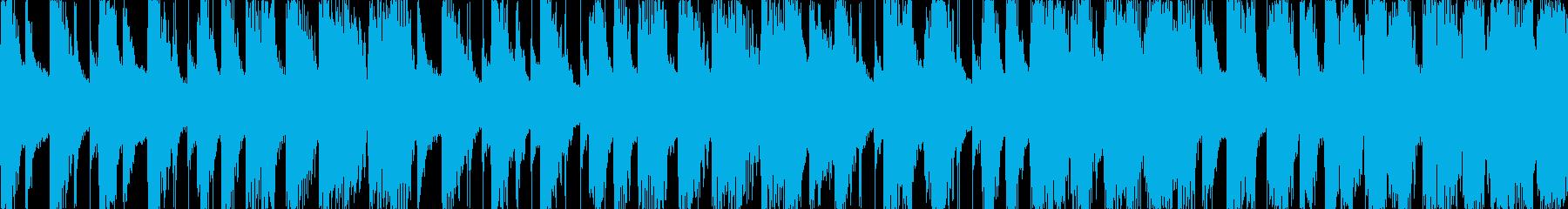 ハロウィン 怪しい感じ ループ曲  L1の再生済みの波形