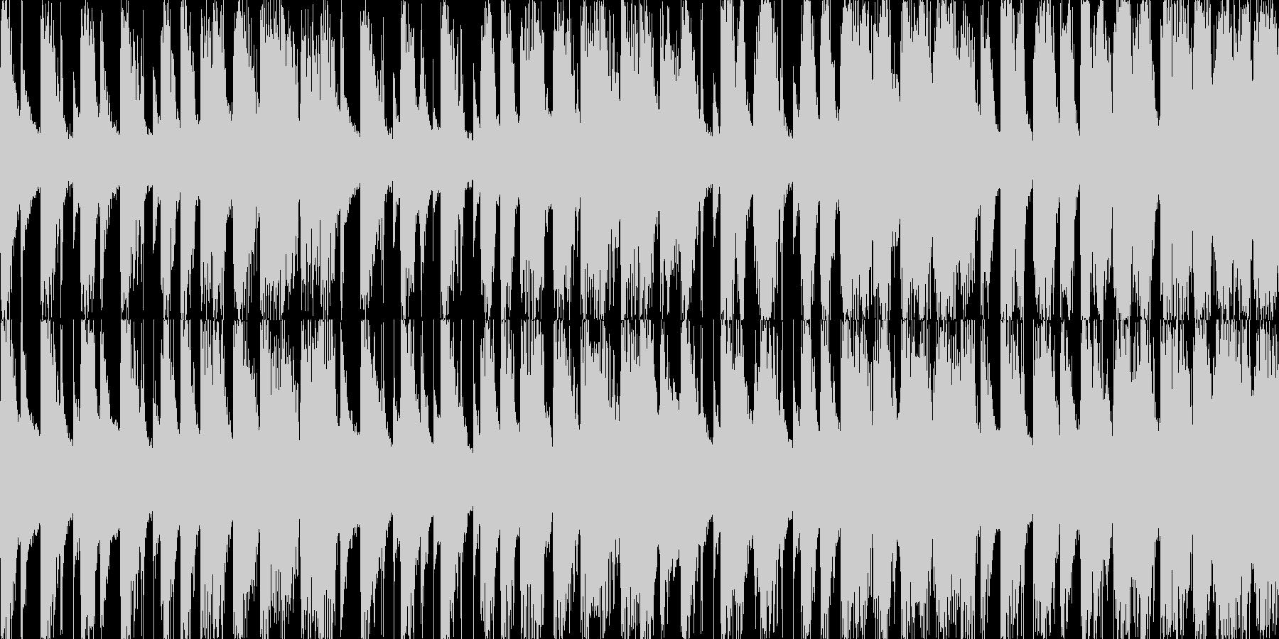 ハロウィン 怪しい感じ ループ曲  L1の未再生の波形