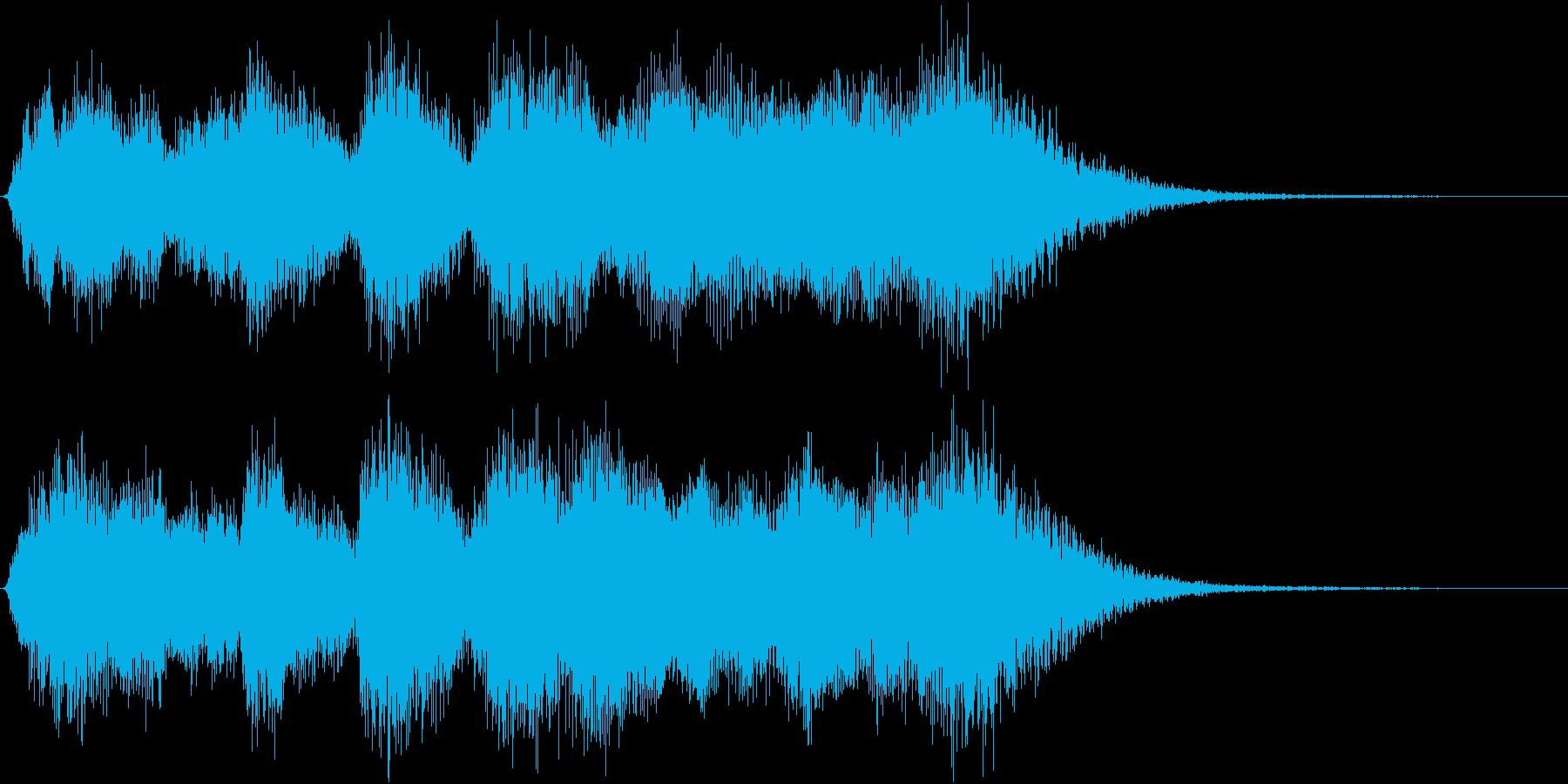 発表!表彰式ファンファーレ【特別賞】の再生済みの波形