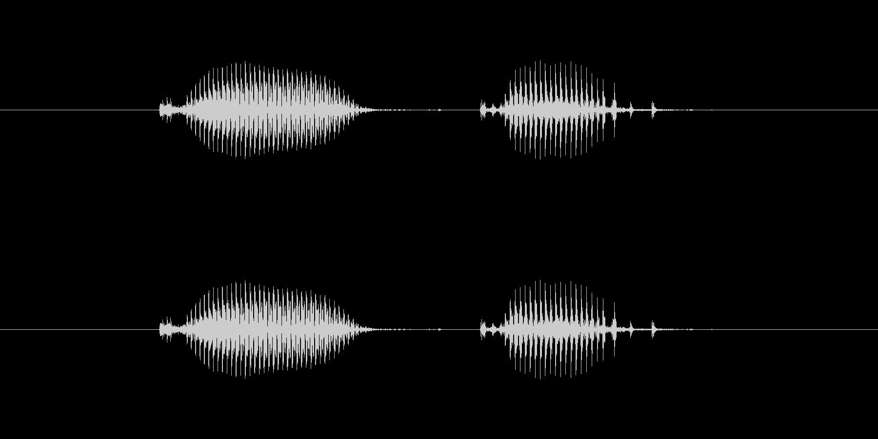 【日】10日の未再生の波形