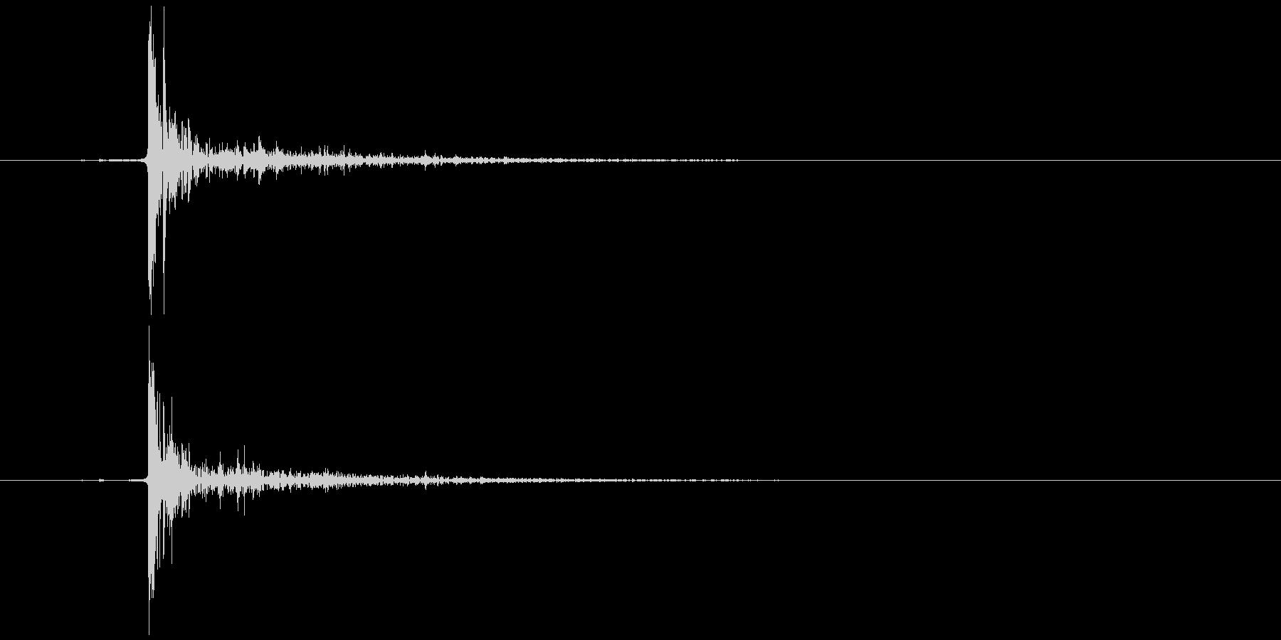 ぷちぷち 破裂音 高音 (強め)の未再生の波形