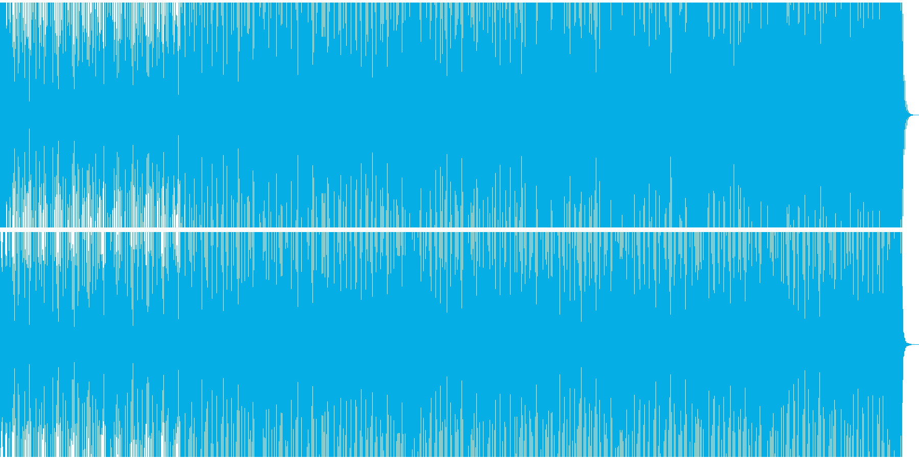危険な香りのするサウンドトラック向きな曲の再生済みの波形