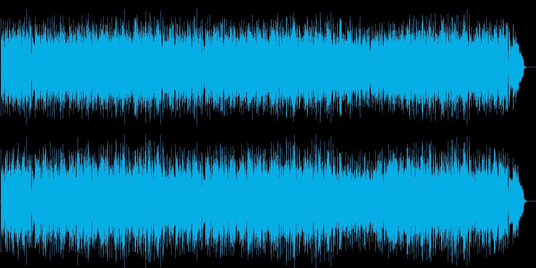 午後のまどろみの豪華なムードポップスの再生済みの波形