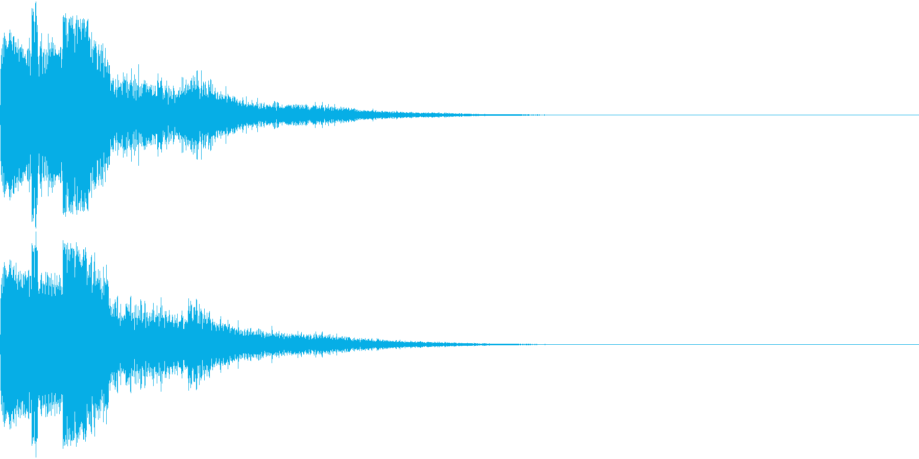ピコン ピコ チャリン キュイン 3の再生済みの波形