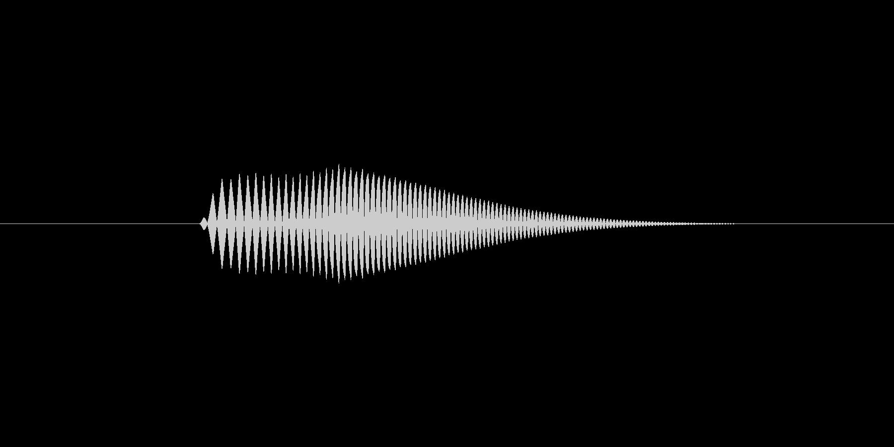 【足音】コミカル 丸みのある非現実系 右の未再生の波形