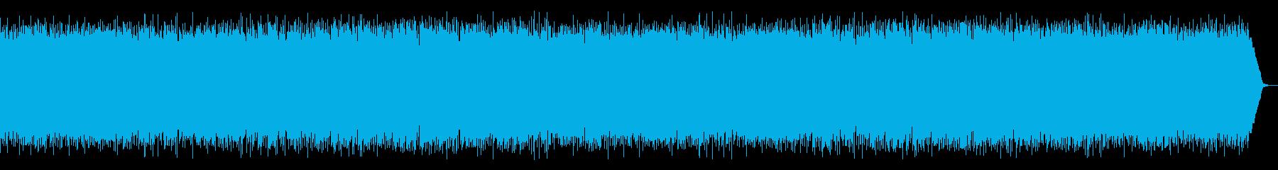 疾走感ある弾む曲でゲーム競技演芸のBGMの再生済みの波形