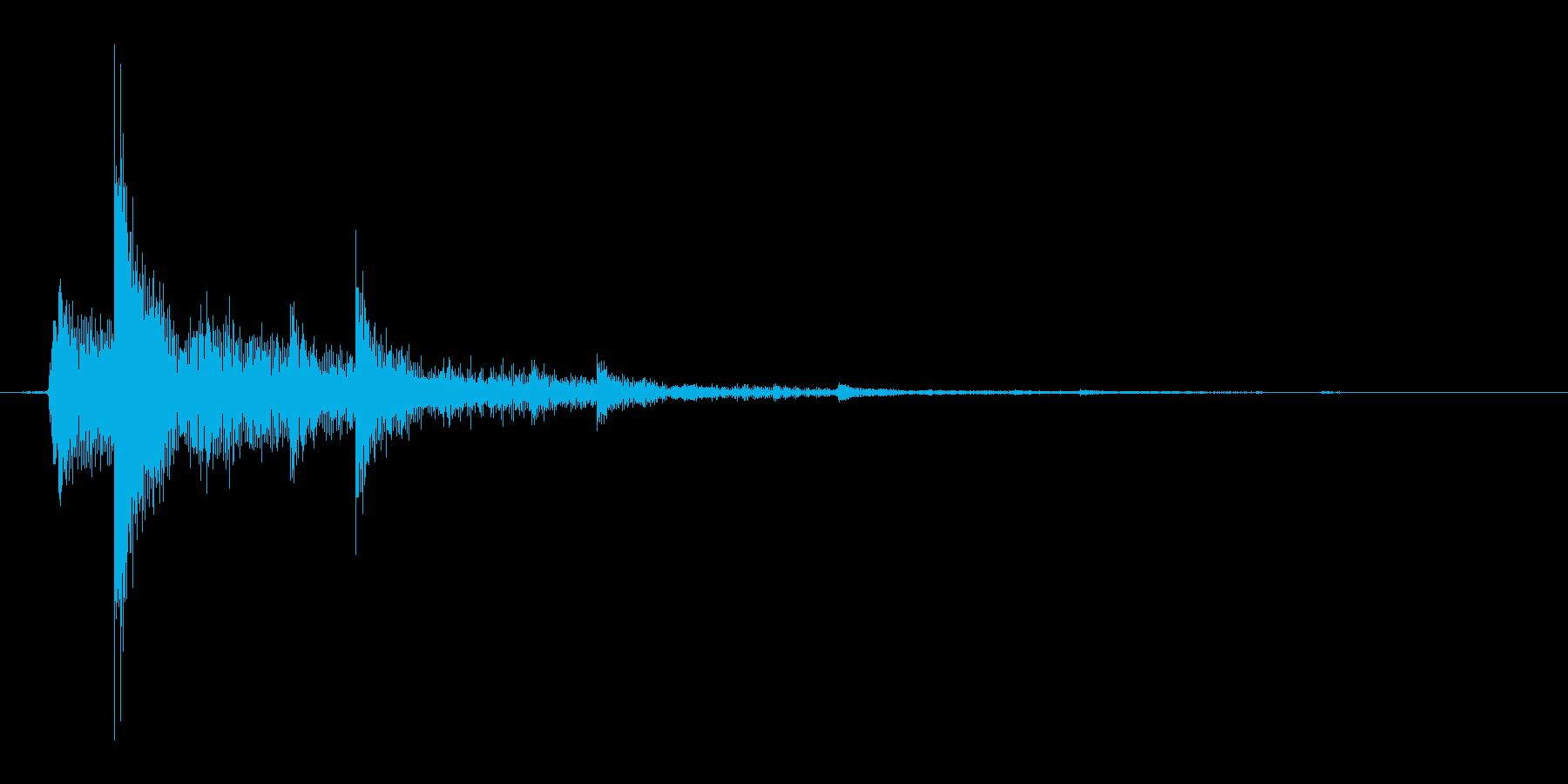 タップ.カーソル移動.クリック.決定07の再生済みの波形