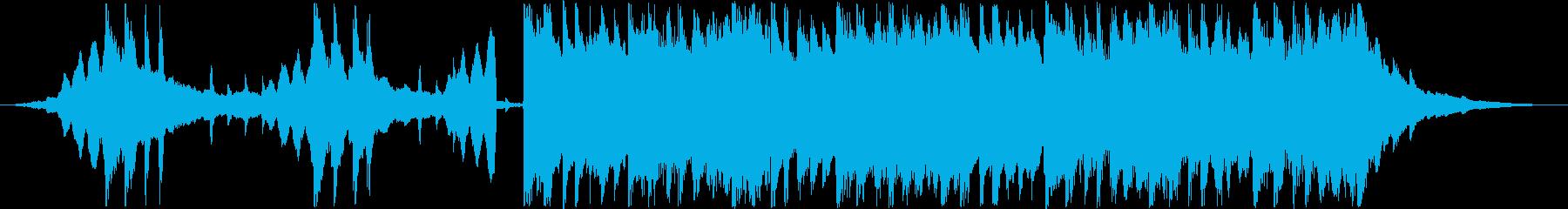 30秒CM用、エレクトロ、スタイリッシュの再生済みの波形