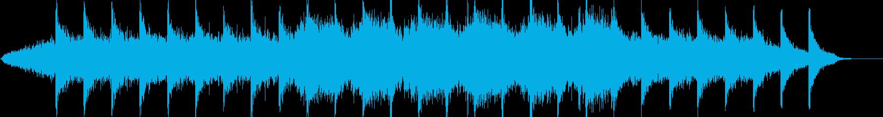 絶望の淵に立たされた神秘なBGMの再生済みの波形