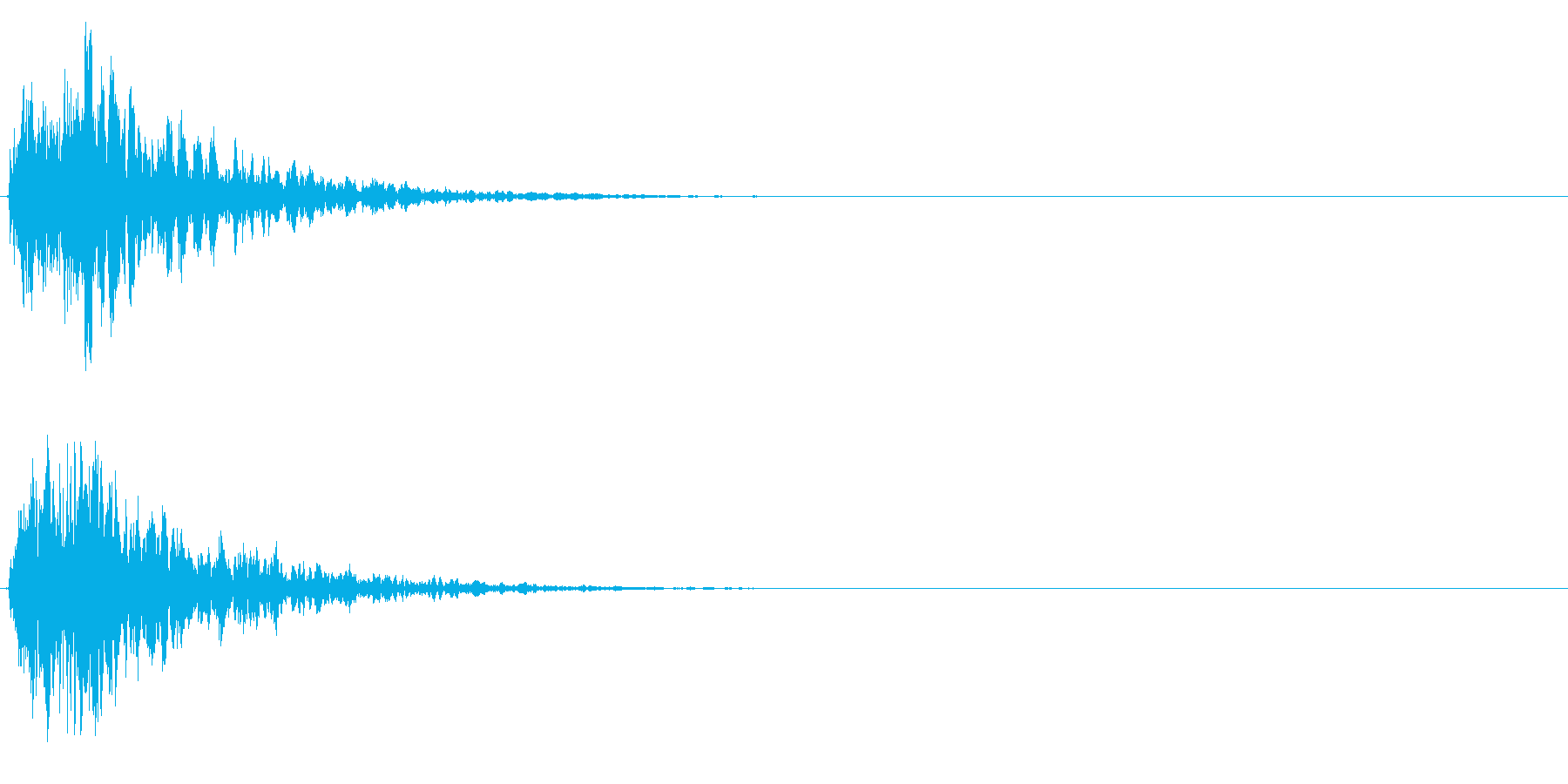 拍子木一丁_03の再生済みの波形