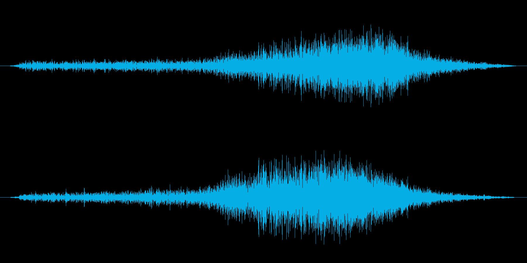 ぶわーの再生済みの波形