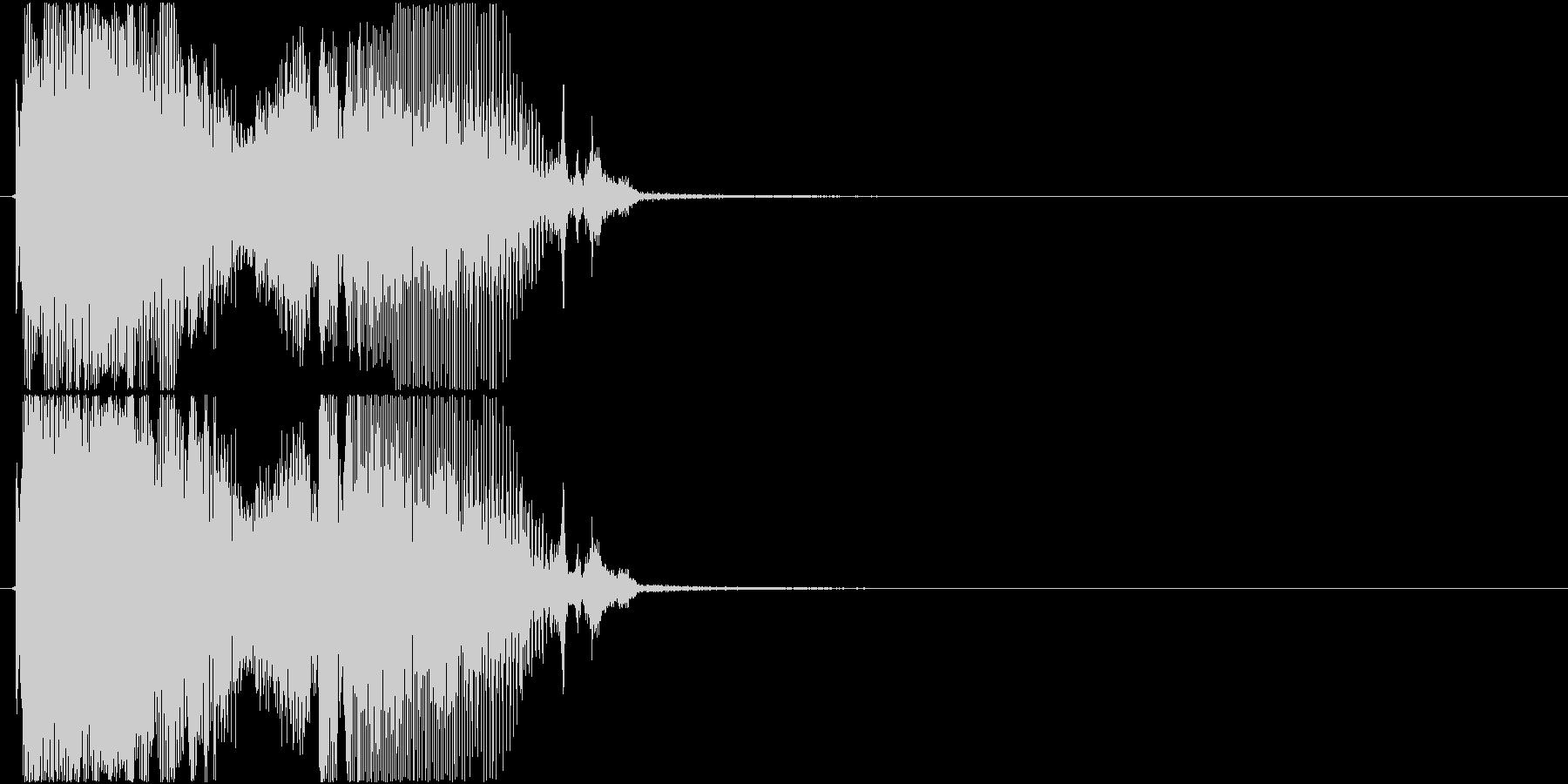 「パーフェクト」ゲーム・アプリ用4の未再生の波形