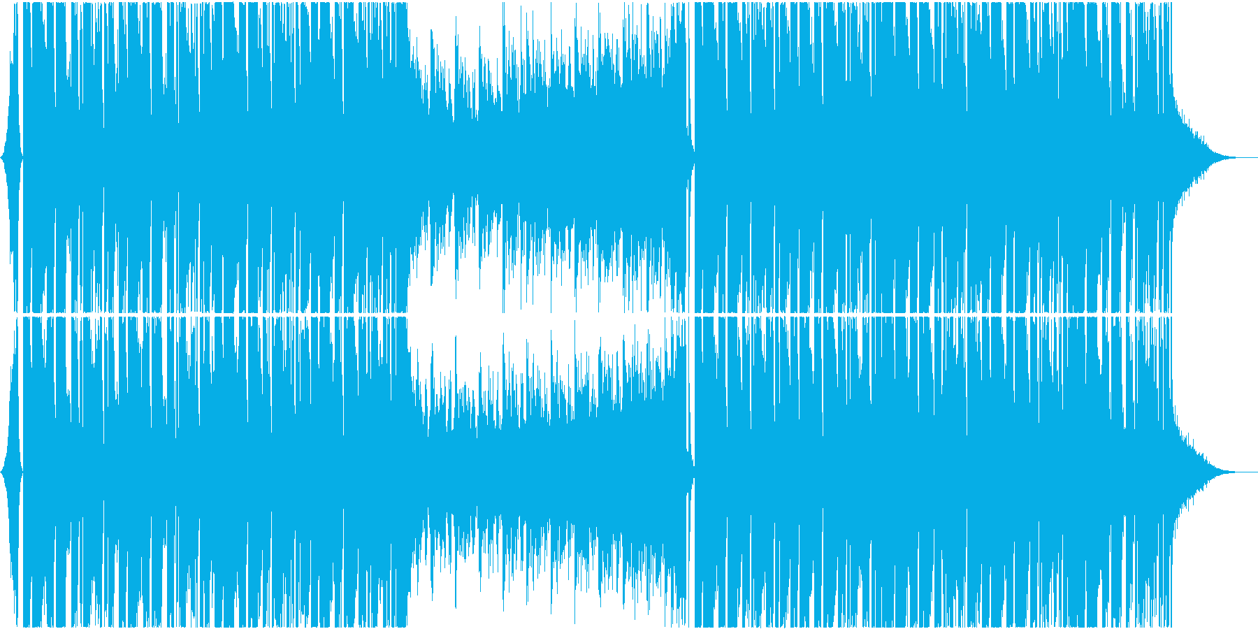 爽やかゆったりめなEDM   の再生済みの波形